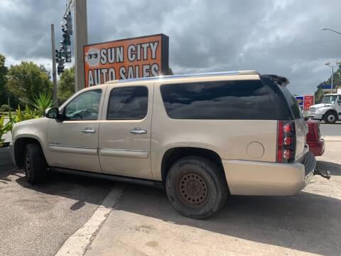 2008 GMC Yukon XL for sale at Sun City Auto in Gainesville FL