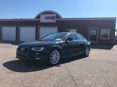2014 Audi A4 for sale at Family Auto Finance OKC LLC in Oklahoma City OK