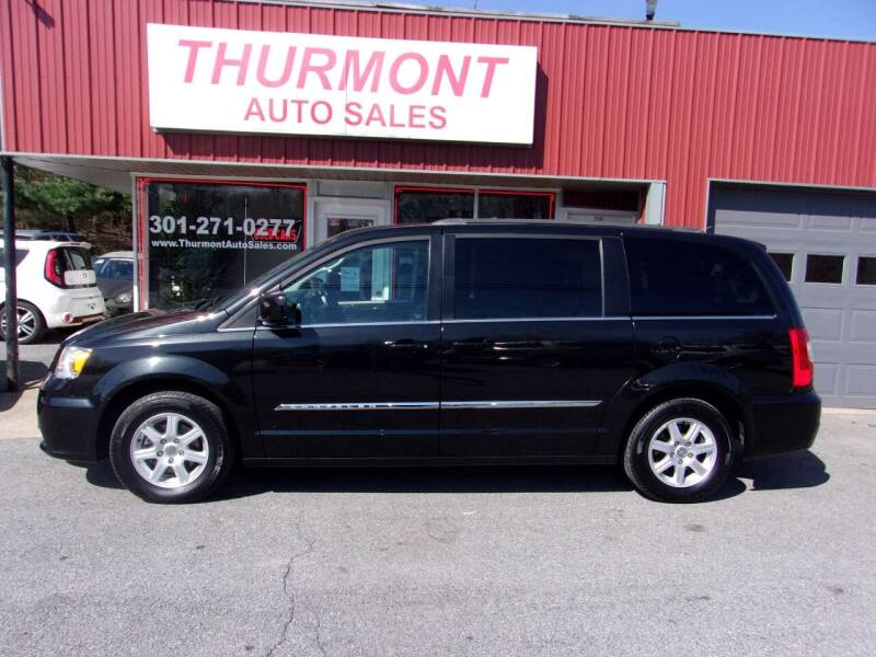 2012 Chrysler Town and Country for sale at THURMONT AUTO SALES in Thurmont MD