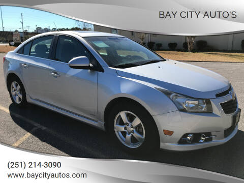 2012 Chevrolet Cruze for sale at Bay City Auto's in Mobile AL