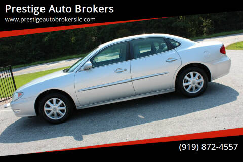 2005 Buick LaCrosse for sale at Prestige Auto Brokers in Raleigh NC