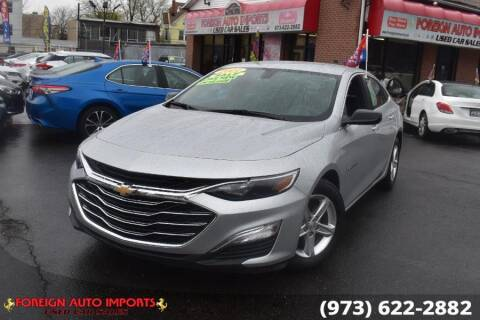 2021 Chevrolet Malibu for sale at www.onlycarsnj.net in Irvington NJ