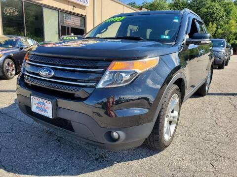 2015 Ford Explorer for sale at Auto Wholesalers Of Hooksett in Hooksett NH