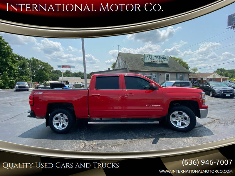 2015 Chevrolet Silverado 1500 for sale at International Motor Co. in Saint Charles MO