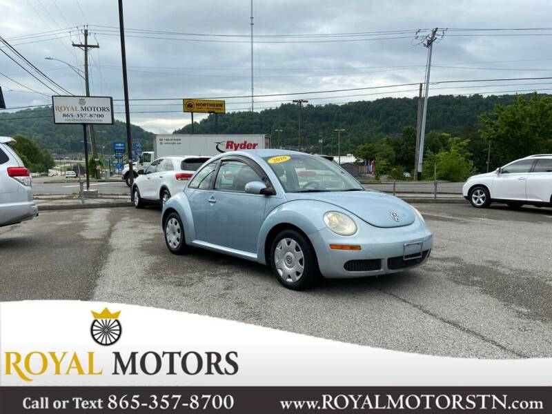 2010 Volkswagen New Beetle for sale at ROYAL MOTORS LLC in Knoxville TN
