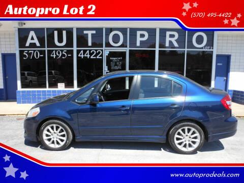 2008 Suzuki SX4 for sale at Autopro Lot 2 in Sunbury PA