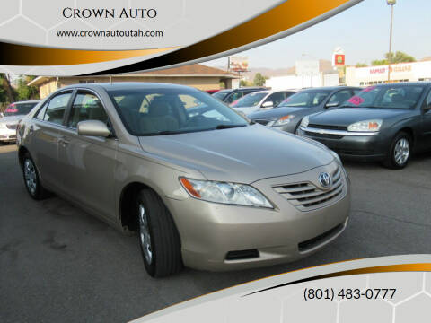 2007 Toyota Camry for sale at Crown Auto in South Salt Lake City UT