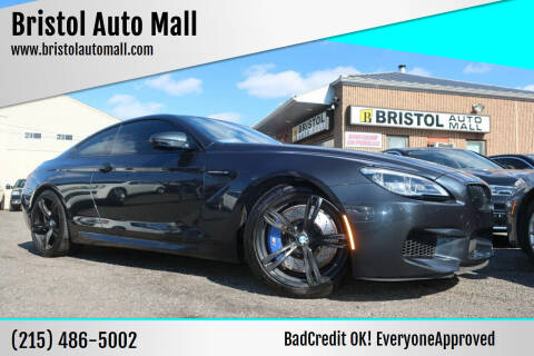 2016 BMW M6 for sale at Bristol Auto Mall in Levittown PA