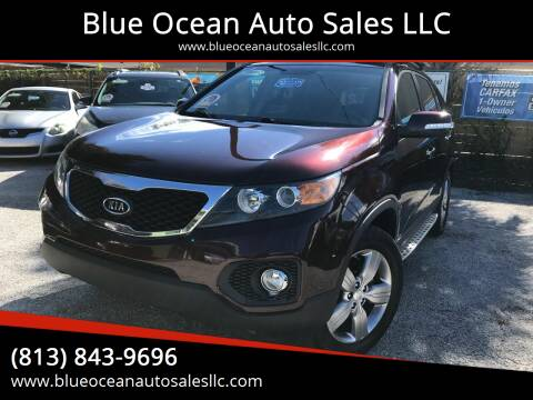 2013 Kia Sorento for sale at Blue Ocean Auto Sales LLC in Tampa FL