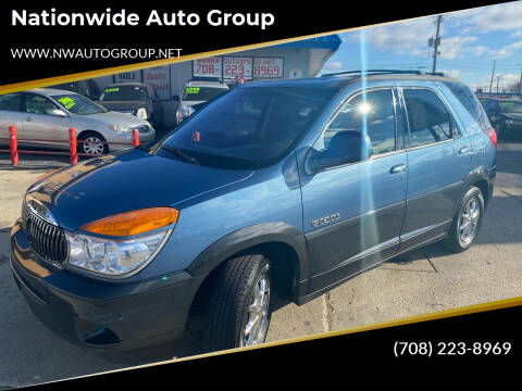 2002 Buick Rendezvous for sale at Nationwide Auto Group in Melrose Park IL