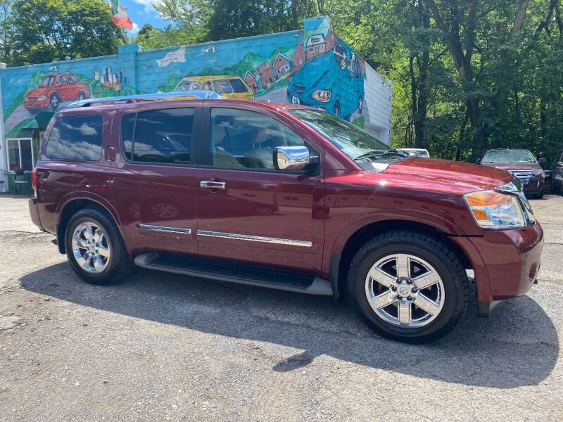 2011 Nissan Armada for sale at Showcase Motors in Pittsburgh PA