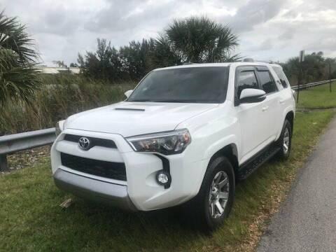 2016 Toyota 4Runner for sale at FLORIDA CAR TRADE LLC in Davie FL