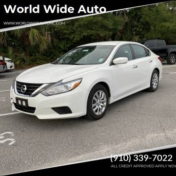 2016 Nissan Altima for sale at World Wide Auto in Fayetteville NC