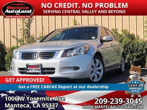 2008 Honda Accord for sale at Manteca Auto Land in Manteca CA