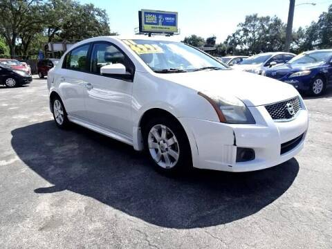 2011 Nissan Sentra for sale at DONNY MILLS AUTO SALES in Largo FL