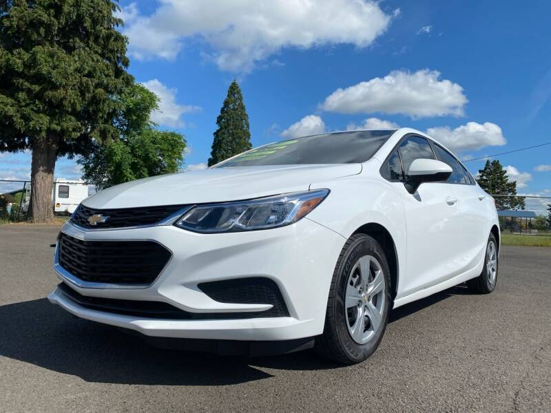 2017 Chevrolet Cruze for sale at Pacific Auto LLC in Woodburn OR