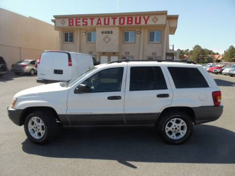 2001 Jeep Grand Cherokee for sale at Best Auto Buy in Las Vegas NV