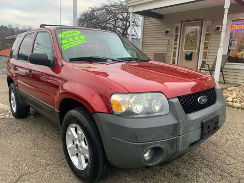 2005 Ford Escape for sale at G & G Auto Sales in Steubenville OH