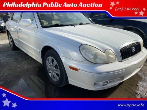 2003 Hyundai Sonata for sale at Philadelphia Public Auto Auction in Philadelphia PA