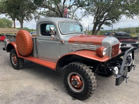 1946 Dodge Ram Pickup 3500 for sale at TROPHY MOTORS in New Braunfels TX