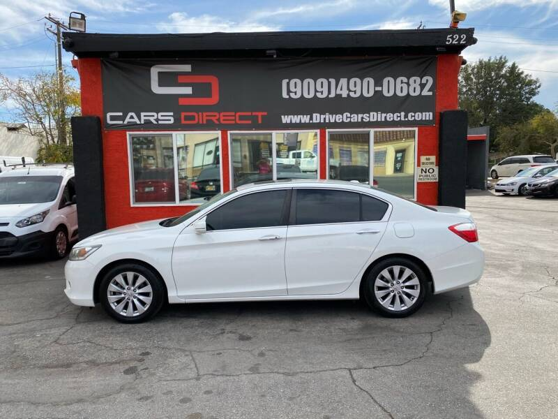 2013 Honda Accord for sale at Cars Direct in Ontario CA