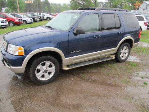 2005 Ford Explorer for sale at D & T AUTO INC in Columbus MN