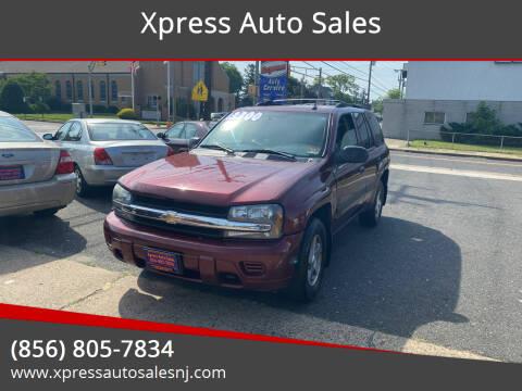 2005 Chevrolet TrailBlazer for sale at Xpress Auto Sales in Laurel Springs NJ