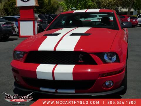 2007 Ford Shelby GT500 for sale at McCarthy Wholesale in San Luis Obispo CA