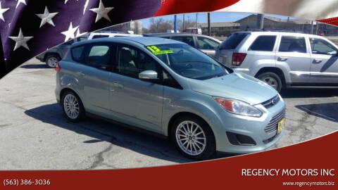 2013 Ford C-MAX Hybrid for sale at Regency Motors Inc in Davenport IA