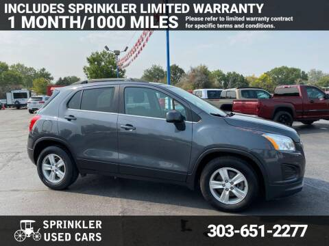 2016 Chevrolet Trax for sale at Sprinkler Used Cars in Longmont CO