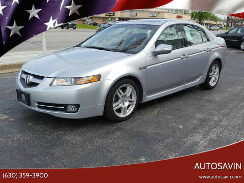2008 Acura TL for sale at AUTOSAVIN in Elmhurst IL