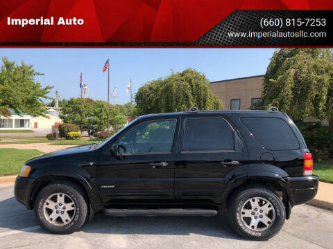 2002 Ford Escape for sale at Imperial Auto of Marshall in Marshall MO