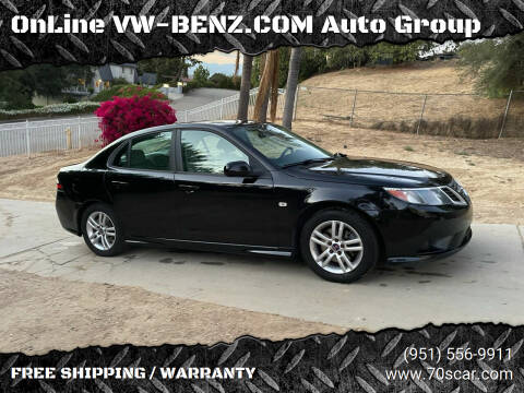 2011 Saab 9-3 for sale at OnLine VW-BENZ.COM Auto Group in Riverside CA
