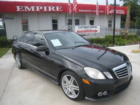 2010 Mercedes-Benz E-Class for sale at Empire Automotive Group Inc. in Orlando FL