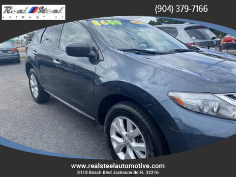 2011 Nissan Murano for sale at Real Steel Automotive in Jacksonville FL
