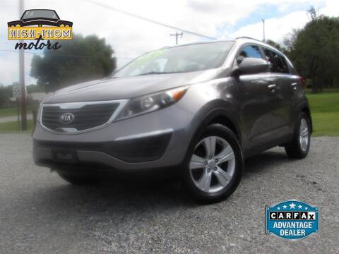 2013 Kia Sportage for sale at High-Thom Motors in Thomasville NC