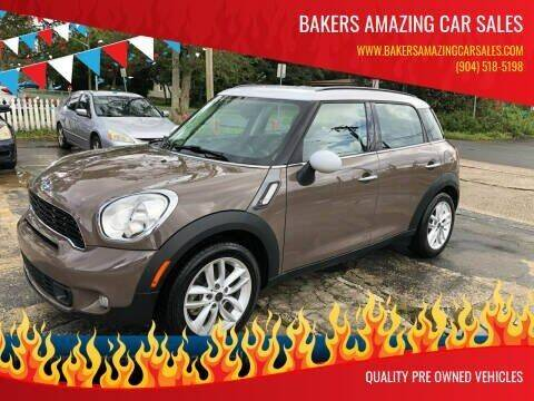 2012 MINI Cooper Countryman for sale at Bakers Amazing Car Sales in Jacksonville FL