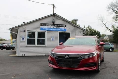 2018 Honda Accord for sale at Deals N Wheels 306 in Burlington NJ