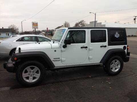 2017 Jeep Wrangler Unlimited for sale at Economy Motors in Muncie IN