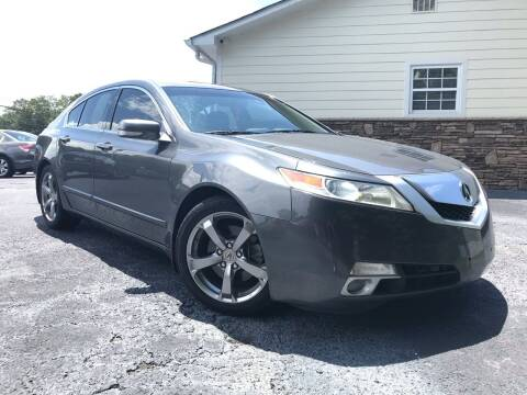 2009 Acura TL for sale at No Full Coverage Auto Sales in Austell GA