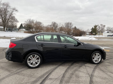 2012 Infiniti G37 Sedan for sale at Magana Auto Sales Inc in Aurora IL