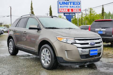 2014 Ford Edge for sale at United Auto Sales in Anchorage AK
