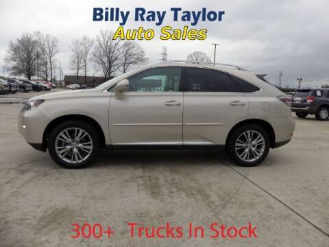 2013 Lexus RX 350 for sale at Billy Ray Taylor Auto Sales in Cullman AL