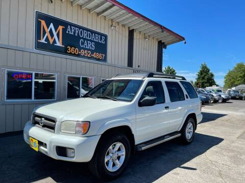2003 Nissan Pathfinder for sale at M & A Affordable Cars in Vancouver WA