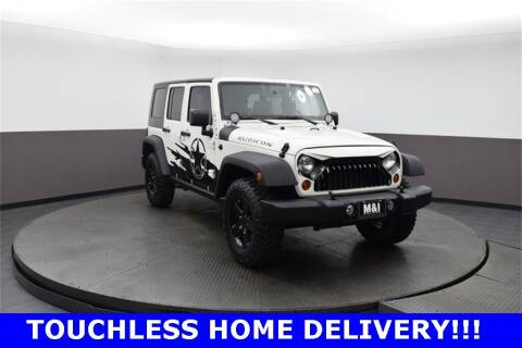 2010 Jeep Wrangler Unlimited for sale at M & I Imports in Highland Park IL