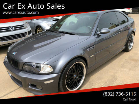 2003 BMW M3 for sale at Car Ex Auto Sales in Houston TX