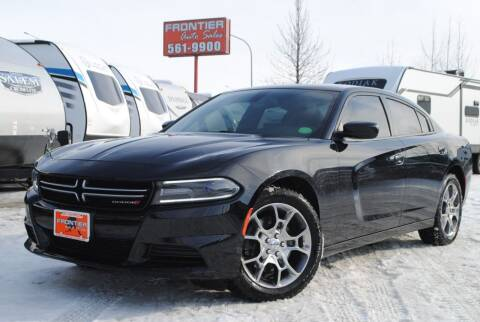 2016 Dodge Charger for sale at Frontier Auto & RV Sales in Anchorage AK