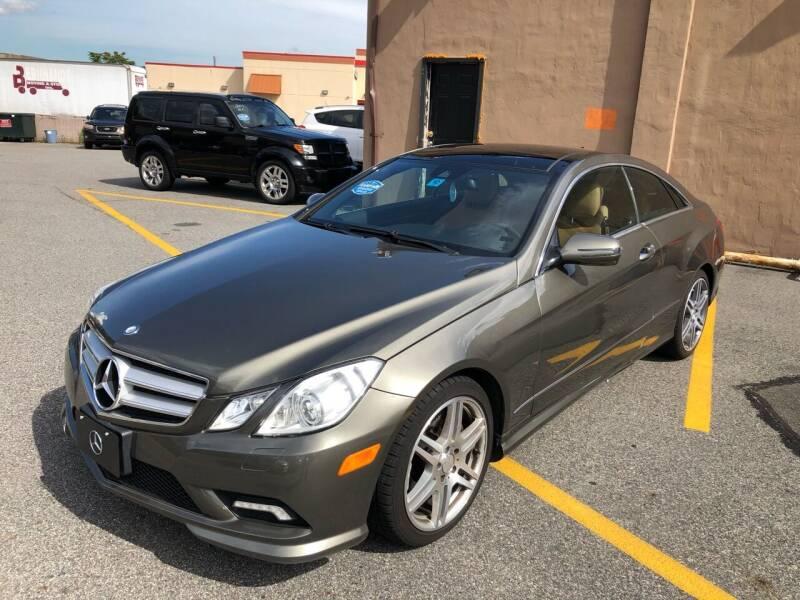 2010 Mercedes-Benz E-Class for sale at MAGIC AUTO SALES - Magic Auto Prestige in South Hackensack NJ
