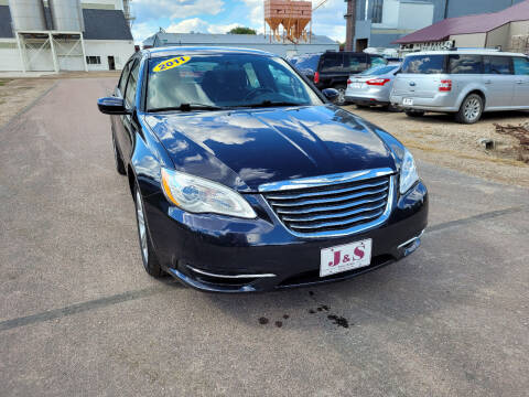 2011 Chrysler 200 for sale at J & S Auto Sales in Thompson ND