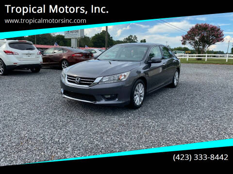 2015 Honda Accord for sale at Tropical Motors, Inc. in Riceville TN